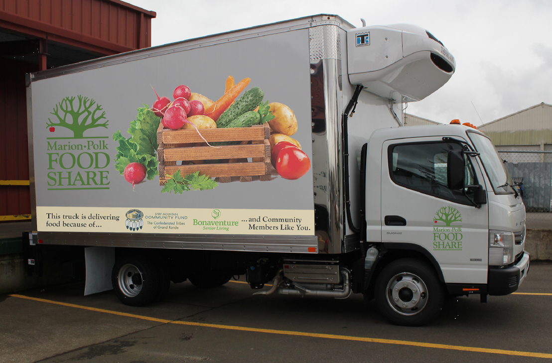 Food Delivery Farm Truck